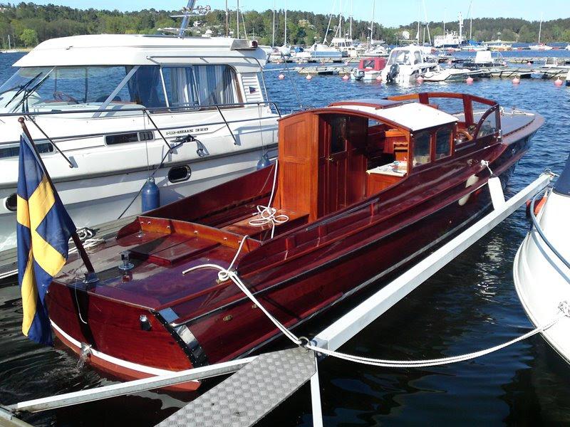Ljungbärgare Salongsbåt